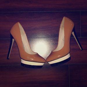 Zara Platform Pumps. Size 40/ 9